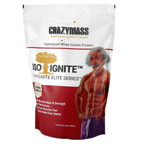 Premium Whey Isolate Protein Powder - CrazyMass
