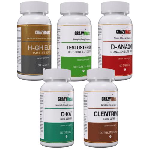 Growth Stack - CrazyMass Legal Steroid Alternative Supplements