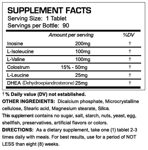D-Anaoxn Supplement Facts