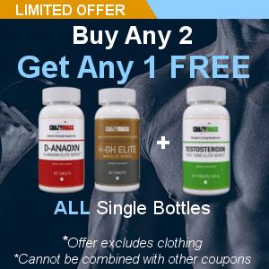 Buy Any 2 Get 1 Free - CrazyMass