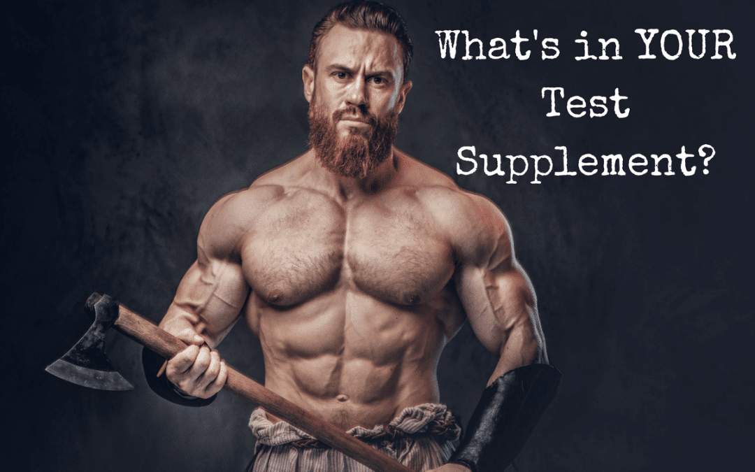 What's In YOUR Test Supplement?