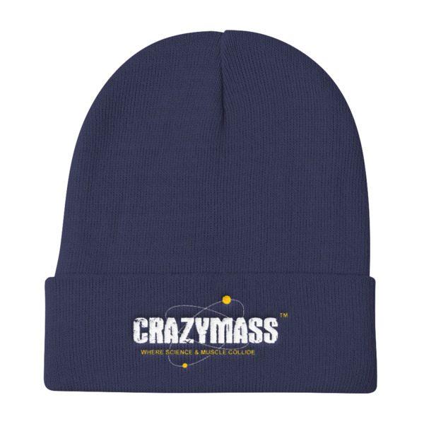 Dark Blue Knit Beanie - CrazyMass