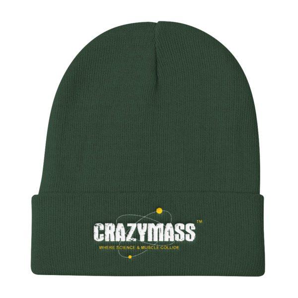 Forest Green Knit Beanie Hat - CrazyMass