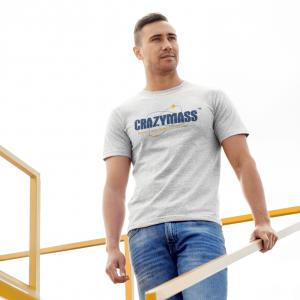 CrazyMass White T-Shirt