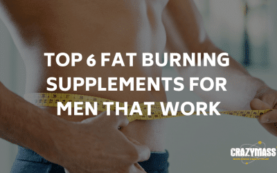 Top 6 Fat Burning Supplements For Men That Work